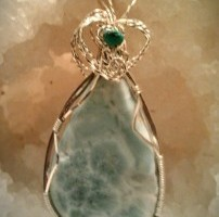 Larimar with Turquoise Soul Mate Love