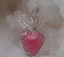 "Rhodochrosite, the ""stone of love and balance"""