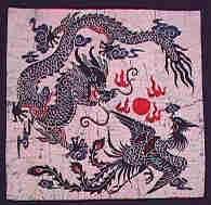 Wise Dragon & Phoenix Communion Batik