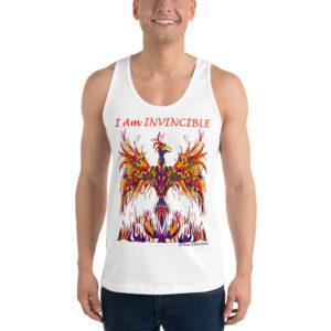 I Am INVINCIBLE Phoenix Tank Top