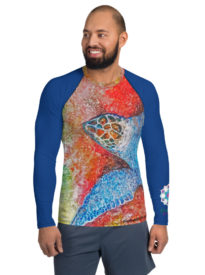 Men's Tranquil Turtle Rash Guard