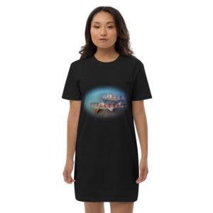 Leopard shark dress